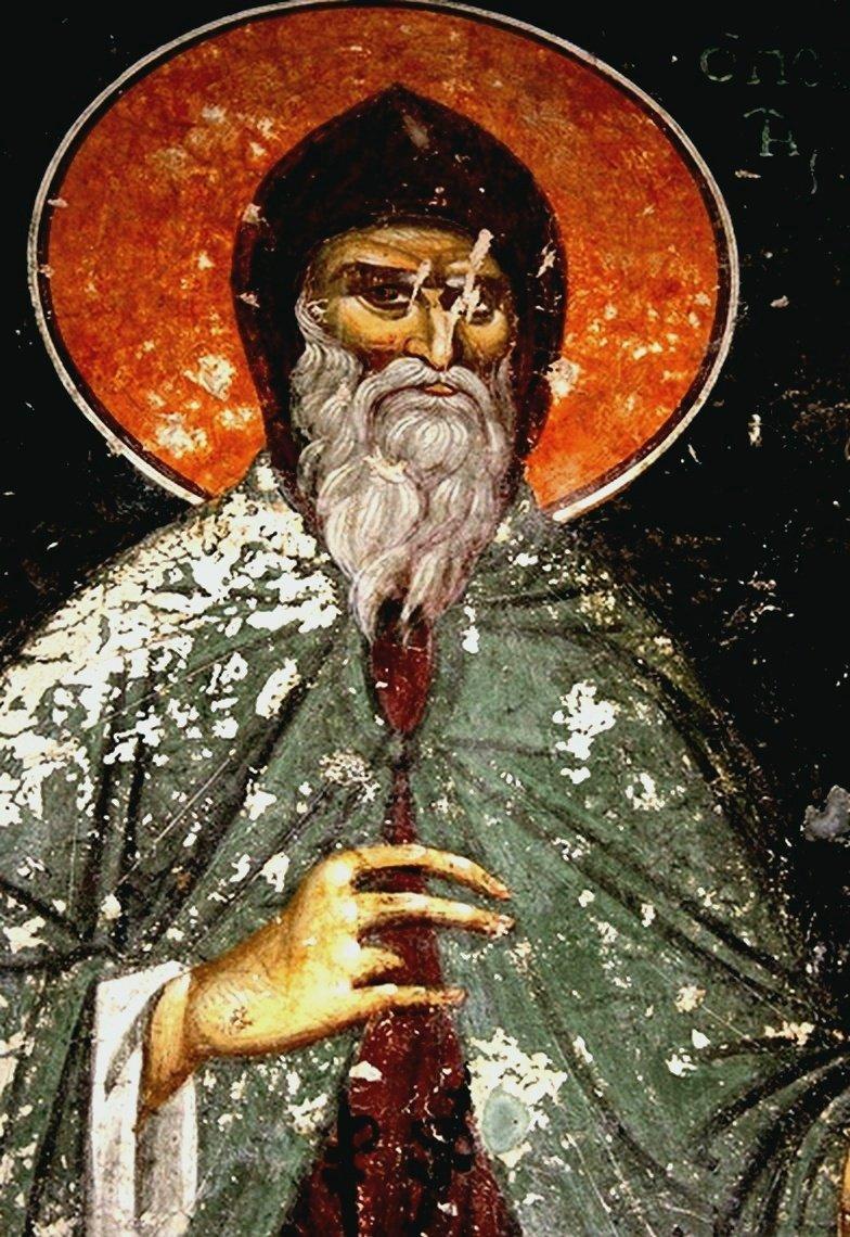 Святой Преподобный Иосиф Песнописец.