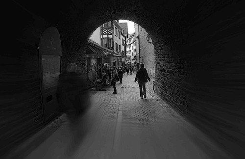 Сквозь тоннель