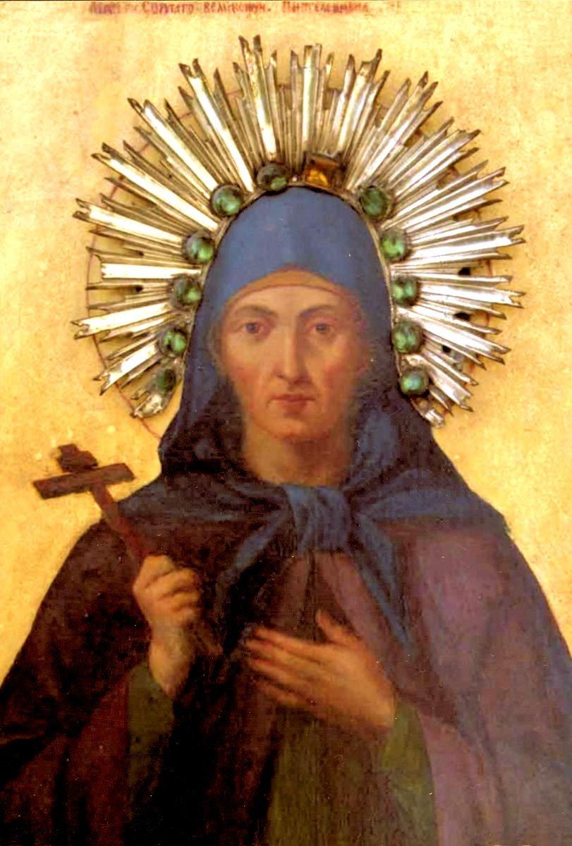 Святая Еввула, мать Святого Великомученика Пантелеимона Целителя.