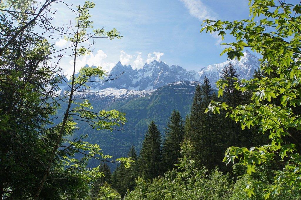 Альпы у Шамони