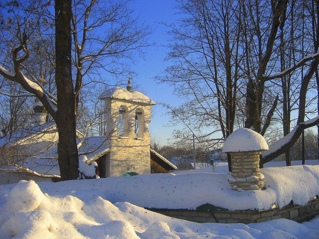 Церковь Сергия Радонежского и Никандра в Изборске