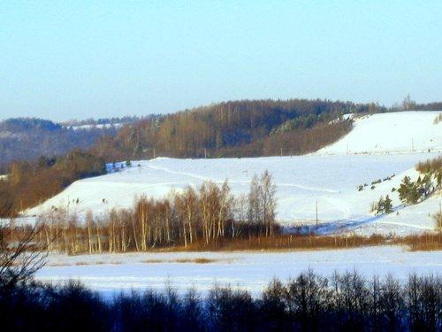 Зимой в Изборске