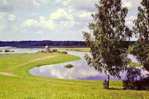 Разлив Сороти в Михайловском