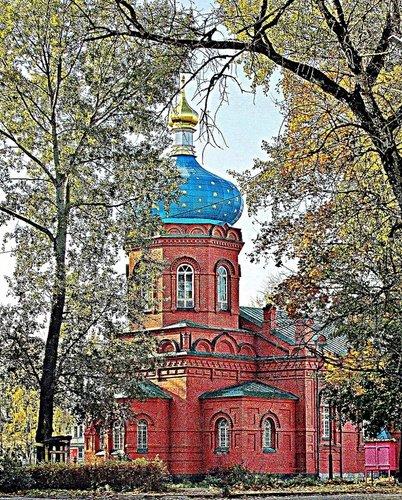 Храм Александра Невского во Пскове