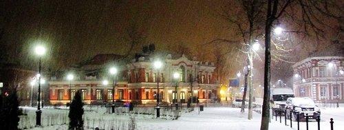 Зимним вечером во Пскове