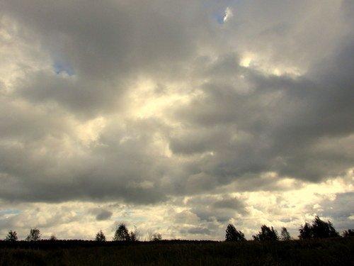 Хмурое небо