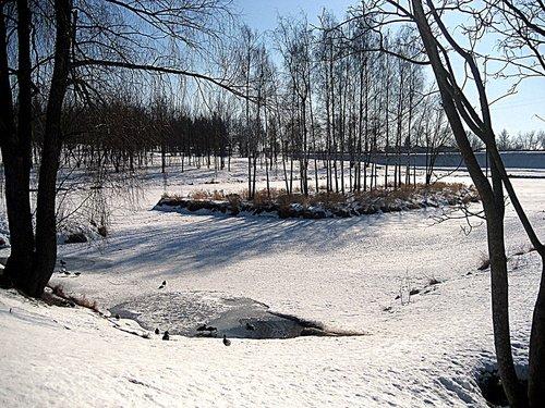 Март-конец зимы-начало весны